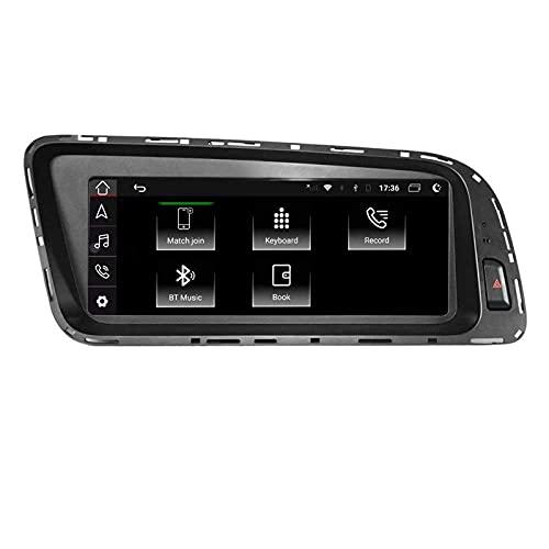 Android 10.0 Car Stereo Radio 8.8 Pulgadas PC para automóvil para Audi Q5 2009 2010 2011 2012 2013 2013 2015 2016 2017 Navegación GPS automática 4G BT WiFi RDS Multimeida Video Audio +