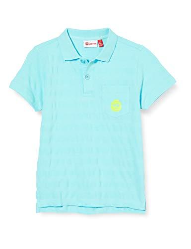 Lego Wear Jungen Lwtobias Polo T-Shirt, Blau (Light Blue 510), (Herstellergröße:128)