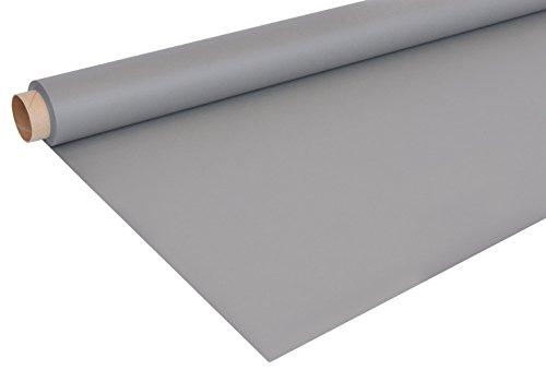 Bresser F001241 Papierhintergrundrolle (1,4 x 11 m, neutral 18 Prozent) grau/seal grau