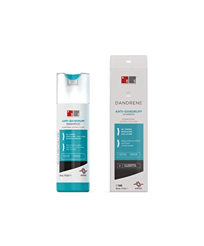 DS Laboratories Dandrene Shampoo Anticaspa, Seboregulador, Antimicótico, 205 ml
