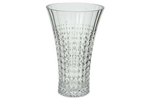 Cristal d Arques, Lady Diamond Vaso 27cm, 1 Pezzo