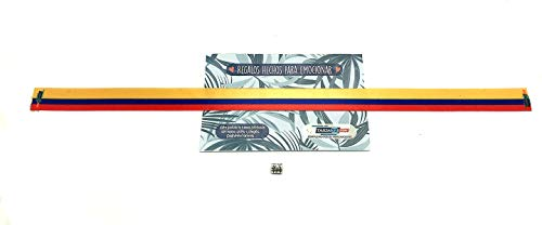 Tarja 73 | Pulsera de Tela con la BANDERA DE COLOMBIA | Regalo Original | Ideal Para Bodas, Aniversarios, Fiestas