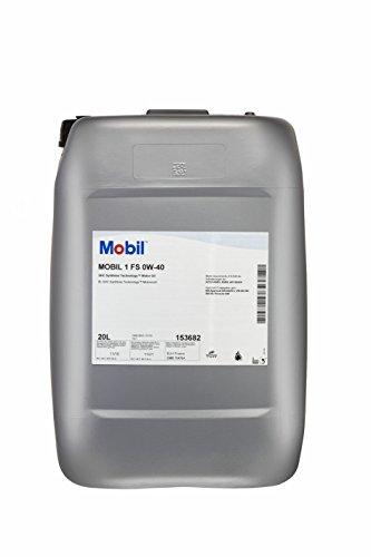 Mobil 1 FS 0W40 153682 Motorenöl Synthetic, Gold, 20L