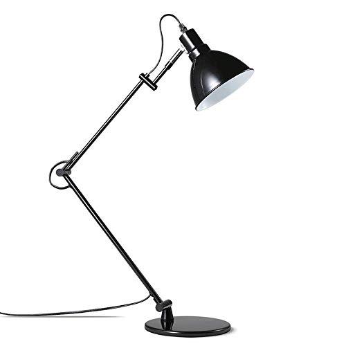 Lámpara de mesa Metal Aprendizaje Oficina Hotel Lectura LED Lámpara de escritorio universidad personalidad creativa oficina Lectura lámpara simple moderno estilo nórdico