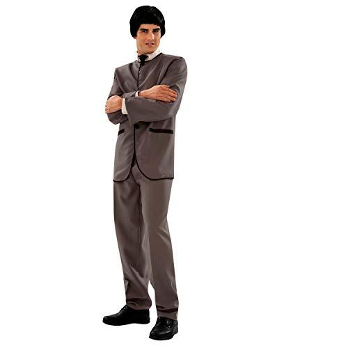 My Other Me Viving Costumes Beatle-kostuum voor heren Small grijs