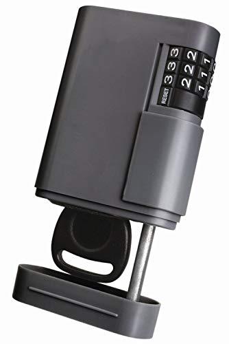 Kidde Supra Locking Stor-A-Key Tresor für Schlüssel mit Zahlenschloss und Magnet, dunkelgrau