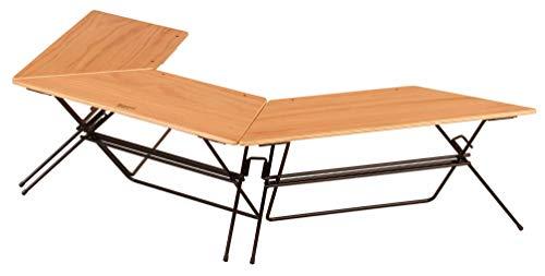 ハングアウト(Hang Out) 焚き火 テーブル アーチテーブル Arch Table FRT-7030WD ウッド 3連結