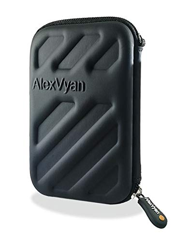 AlexVyan-Shock Proof External Hard Disk Case Protector for Seagate, WD, Transcend, Lenovo,...