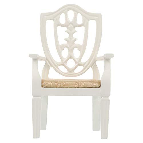 SOIMISS Casa de Muñecas Mini Muebles Modelo de Silla de Madera DIY...