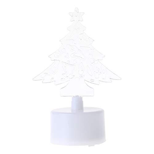 Couleur changeante Arbre de Noël LED Veilleuse Décoration murale 01