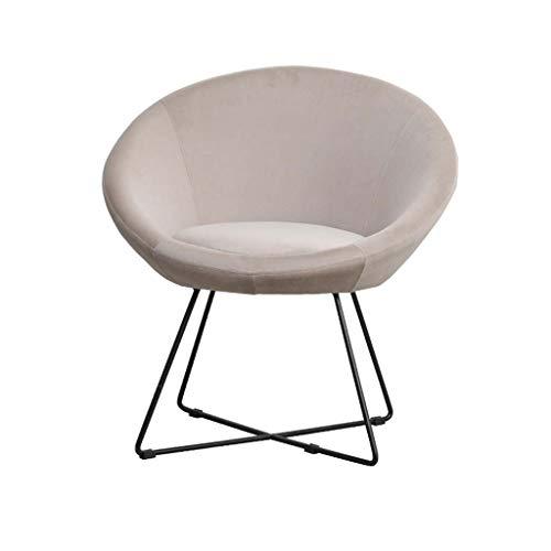 Barstoel Massief houten stoel Rugleuning Thuisstoel Vrije tijd Sofa Stoel Café Slaapkamer Bureaustoel Eetkamerstoel Balkon Kaptafel Stoel (Color : Light gray)
