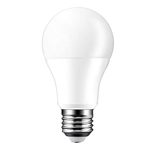 Lampadina WiFi intelligente Lampadine E27 Lampadina intelligente super luminosa Lampadina dimmerabile 15W Lavora con Amazon Alexa/Google Home (E27 cool white)