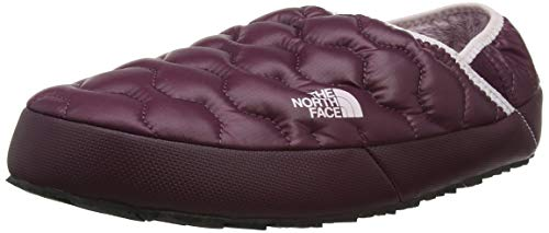 The North Face Thermoball Traction IV, Mules para Mujer, Verde (Shiny Fig/Burnished...