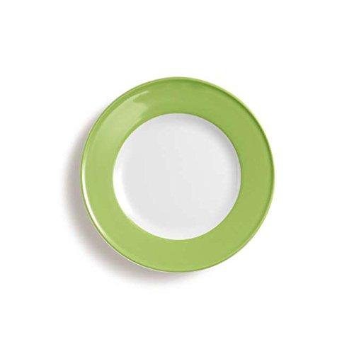 Dibbern Sc Teller Flach 21 cm Fahne Maigrün