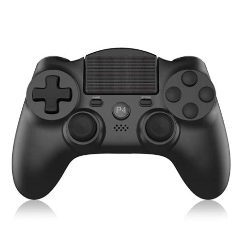 Wireless Controller für PS4,SinFoxeon Game Controller Gamepad mit Dual Vibration Touchpanel Anti-Rutsch Griff Audio-Buchse und 6-Achsen-Gyro Bewegungssensor für PS4/PS4 Slim/PS4 Pro/PC