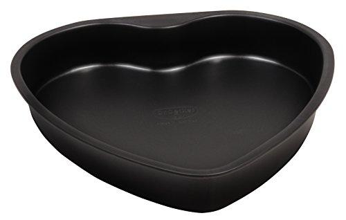 Dr. Oetker Herz-Backform mit herzförmige Auslaufschutzboden, Stahl, Ø 24 cm