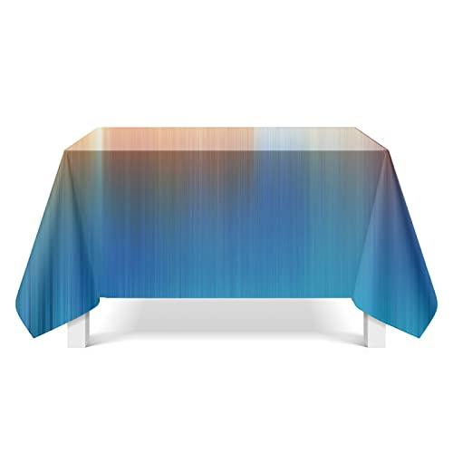 XGguo Mantel Cocina Salón Limpiar. Arte de Textura Aurora