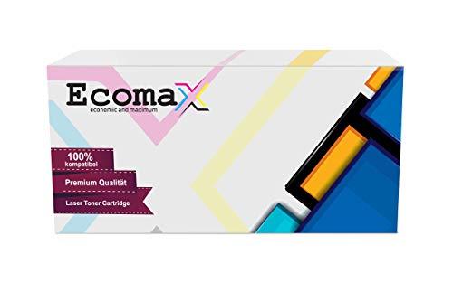 Ecomax 2 XXL Toner kompatibel zu HP 51X Q7551X für HP Laserjet P3005 P3005D DN P3005X, Laserjet M3035 MFP, M3035X MFP, M3027 MFP M3027 XS - Schwarz 13.000 Seitenkapazität