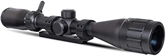 Monstrum 3-9x40 Rifle Scope with AO Adjustable Objective | with Ruger 10/22 Dual Ring Scope Mount