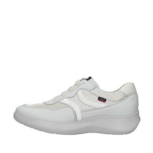CALLAGHAN - Zapato Deportivo Casual, Sneakers con cordón elástico, Zapatillas cuña y Plataforma, para: Mujer Color: Stone Talla:40