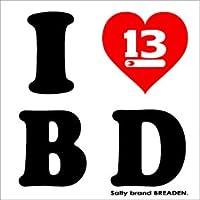 ブリーデン(BREADEN) ステッカーG  I love B D
