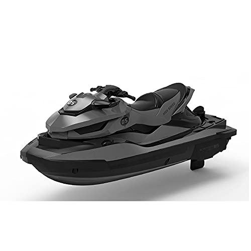 QHYZRV Mini Barco De Control Remoto 2,4 GHz Verano Jet Ski Barco De Motor Eléctrico Barco De Agua para Niños Juguetes De Control Remoto para Niños
