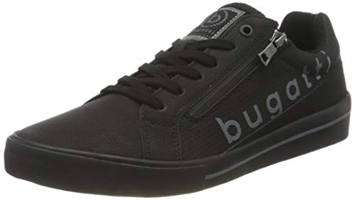bugatti Herren 321929035000 Sneaker, Schwarz, 42 EU