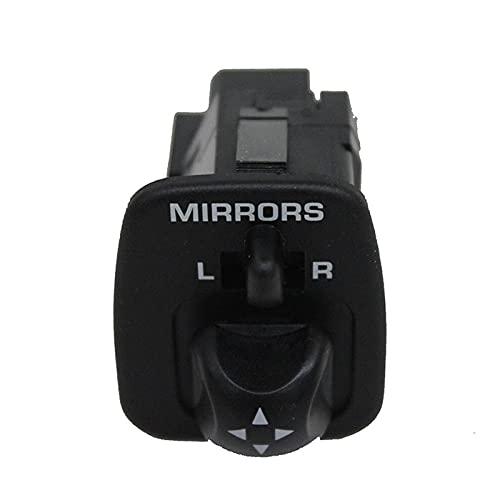 RJJX Interruptor de Espejo del Poder Delantero Izquierdo del Coche Ajuste para Ford F-150 1997-2004 F65Z-17B676-AB 901-319 (Color : Black)