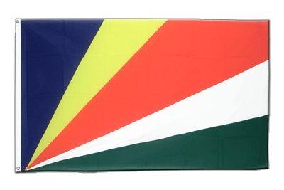 Seychellen Flagge, seychellische Fahne 60 x 90 cm, MaxFlags®