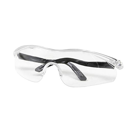 JohnJohnsen Gafas protectoras anti-vaho Aislamiento Gafas anti-saliva transpirables Totalmente claro Visión Seguridad Anti-salpicaduras