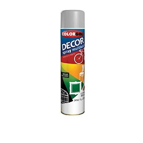 Tinta Spray Colorgin Decor Multiuso Alumínio 500 250g