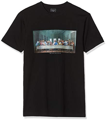 Mister Tee Herren Can´t Hang with Us Tee T-Shirt, Schwarz (Black 00007), Large (Herstellergröße: L)