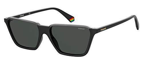 Gafas de Sol Polaroid PLD 6126/S Black Grey/Grey 56/16/145 hombre