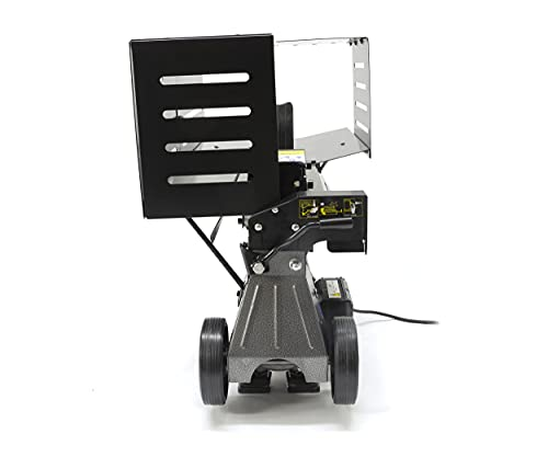 The Handy THLS-6G Electric Log Splitter with Safety Shut-Off and Guard, 2200W 6 Tons Pressure - 2 Year Guarantee