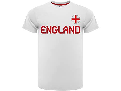 Camiseta de fútbol oficial de Inglaterra 2020. Modelo neutro. Material 100 %...