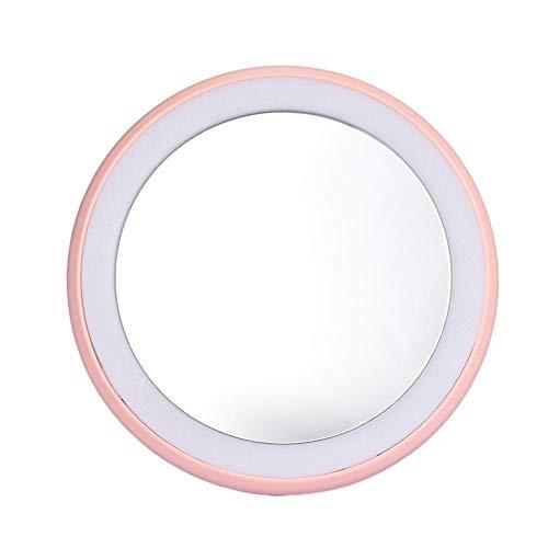 Miroir de maquillage élégant et léger portable