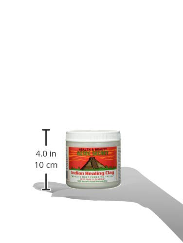 Aztec Secret - Indian Healing Clay - 1 lb. | Deep Pore Cleansing Facial & Body Mask | The Original 100% Natural Calcium Bentonite Clay - New! Version 2