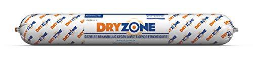 Dryzone Horizontalsperre Creme - Gegen Feuchte Wände und Aufsteigende Feuchtigkeit - WTA Zertifiziert 600 ml. Bei Wandstärke von 240mm, Ergiebigkeit von 3 Meter Wandlänge behandelt.