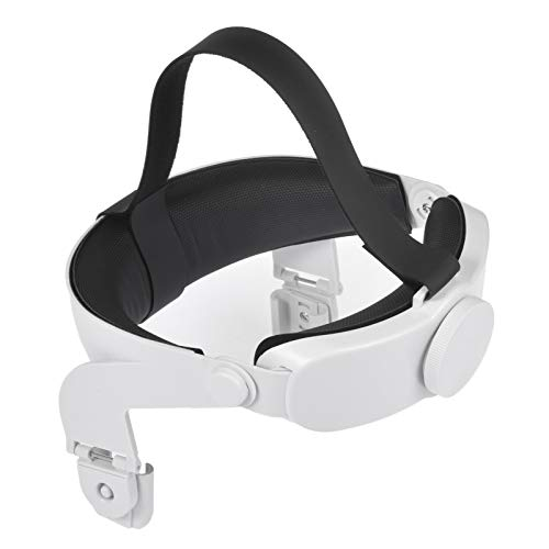 Qians VR Headset Headset para Oculus Quest 2 Headset VR Ajustable Headset para Varias Formas de Cabeza Diseño ergonómico liviano Soporte Mejorado y Comodidad en Juegos de Realidad Virtual
