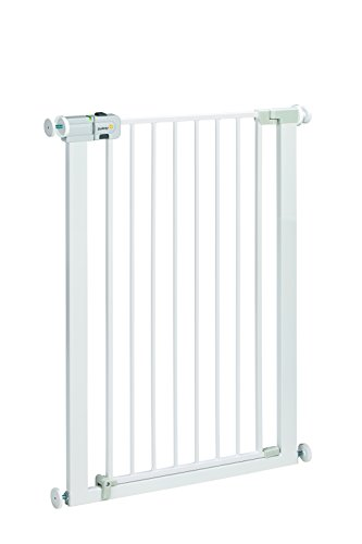 Safety 1st U-Pressure Easy Close Extra Tall Barriere en Métal Blanc