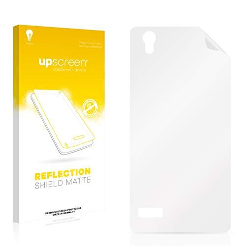 upscreen Entspiegelungs-Schutzfolie kompatibel mit Oppo Mirror 5 (Rückseite) – Anti-Reflex Bildschirmschutz-Folie Matt