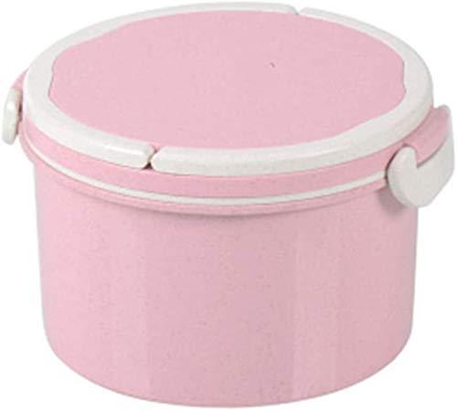 Porcelana Premium El Almuerzo Bento Box Estudiante Caja De Plástico Doble Compartimiento Con Tapa Sellada Microondas Fiambrera Historieta Creativa Corea Linda Caja De Almuerzo for Catering and Home
