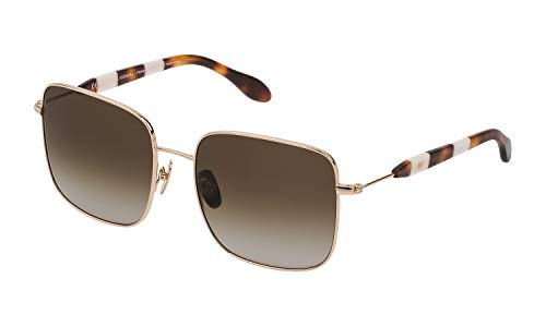 Carolina Herrera New York Shn060m, Gafas De Sol Mujer, Shiny Rose Gold (300Y)