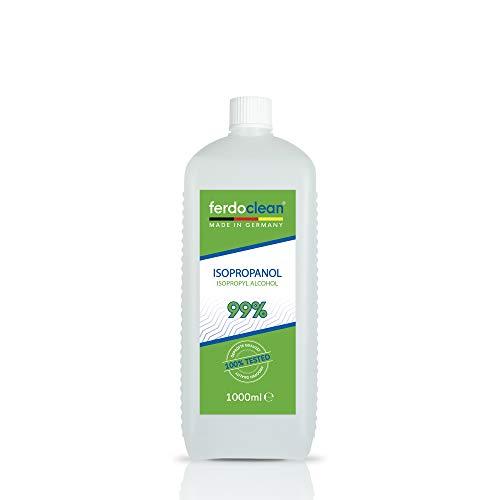 ferdoclean® izopropanol, alkohol 99,9% - 1000 ml | IPA 2-propanol alkohol izopropylowy izopropyl | Środek czyszczący 1L