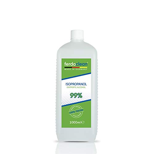 ferdoclean® isopropanol alcohol 99,9% – 1000 ml | IPA 2-propanol isopropylalcohol isopropyl | Reinigingsmiddel 1L