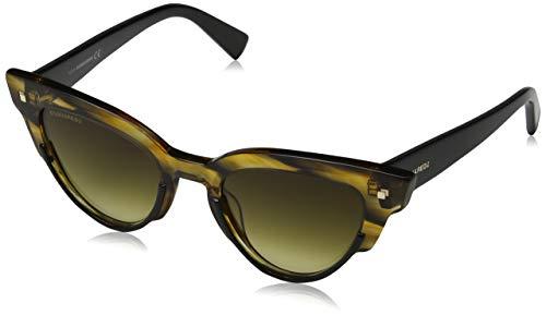 DSQUARED2 Sheri Gafas de sol, Verde (Shiny Light Green/Gradient Green), 50.0 para Mujer