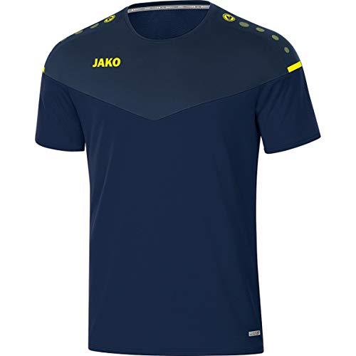 JAKO Kinder T-shirt Champ 2.0, marine/chili rot, 128, 6120