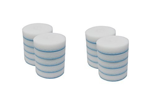 Mr. Clean 240546 Magic Eraser Toilet Scrubber Refill Discs, (2 packs of 10 = 20 Disks)