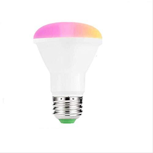 Smart Wifi LED-lamp Br20 RGB-lamp 10W Rgbw Kleurrijke verrekijker Kleurrijke afstandsbediening koplamp