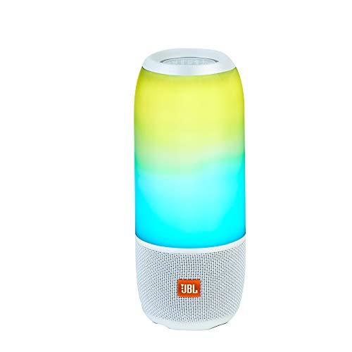 JBL Pulse 3 Tragbarer Bluetooth-Lautsprecher weiß